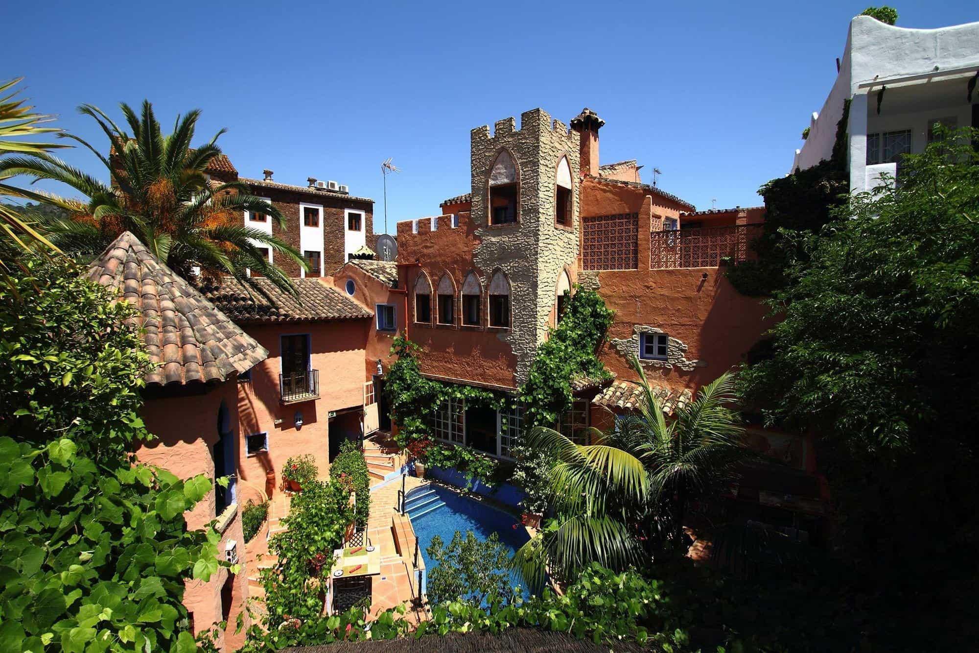 hotel amanhavis benahavis golf accomodation