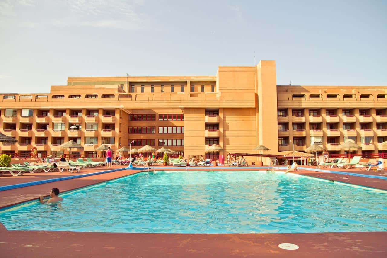 hotel las palmeras, fuengirola golf accomodation