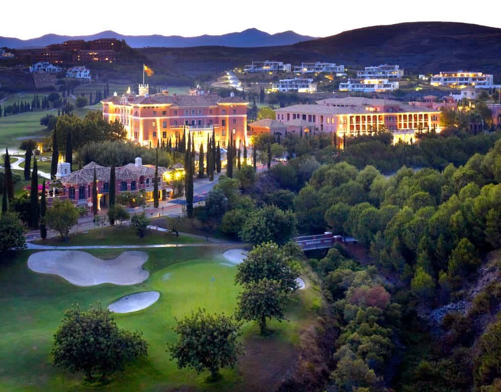 villa padierna palace hotel golf accomodation